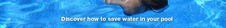 saving water in the pool